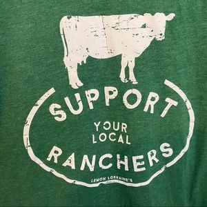 Support Your Local Ranchers Graphic Tee